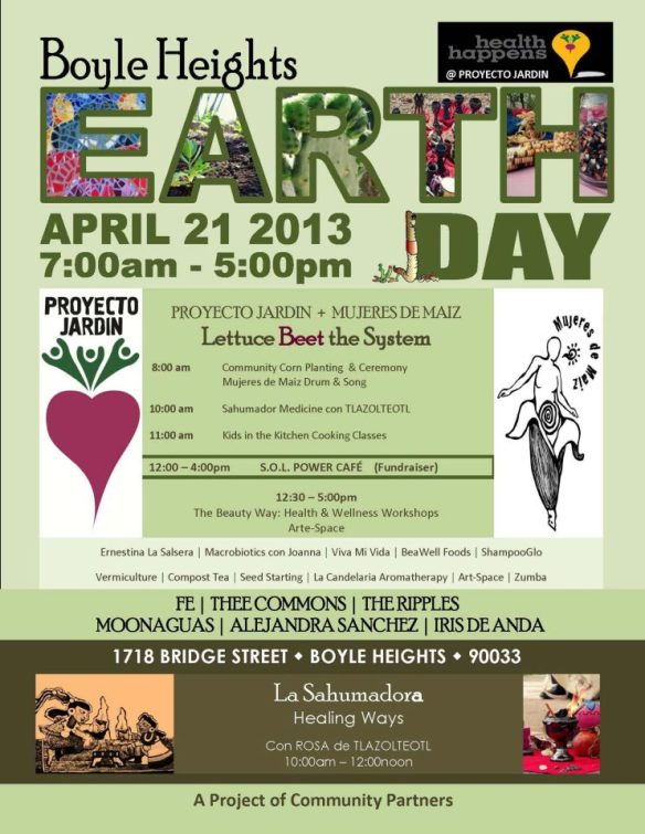 earth day boyle heights